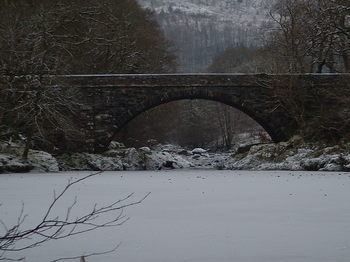 Beaver Pool. River Conwy Frozen